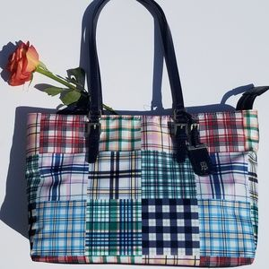 FLASH SALE! NWT Tommy Hilfiger tote.